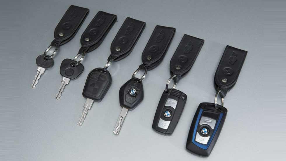 La evolución del diseño de las llaves de los coches, en fotos