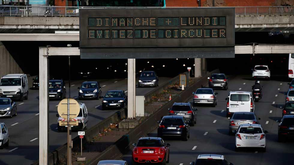 Los coches anteriores a 1997 no podrán circular por París