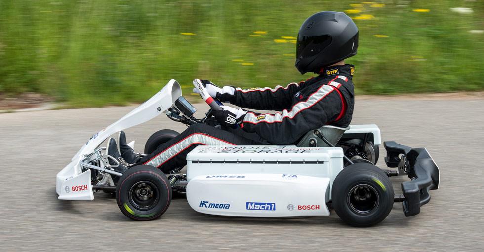Kart eléctrico de Bosch: para correr y probar micro-híbridos
