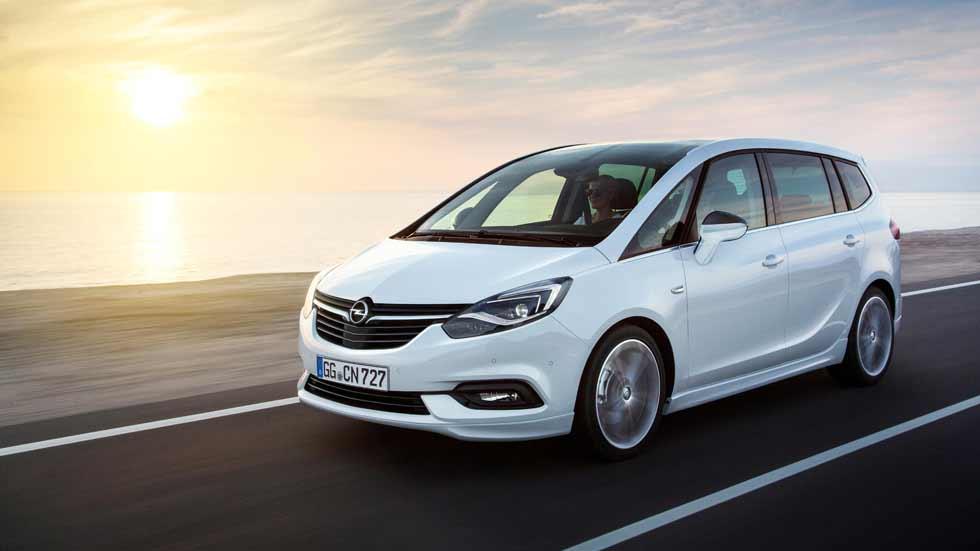 Nuevo Opel Zafira 2016: primeras fotos y datos oficiales