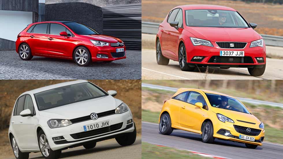 Las marcas y modelos de coches más vendidos de enero a mayo
