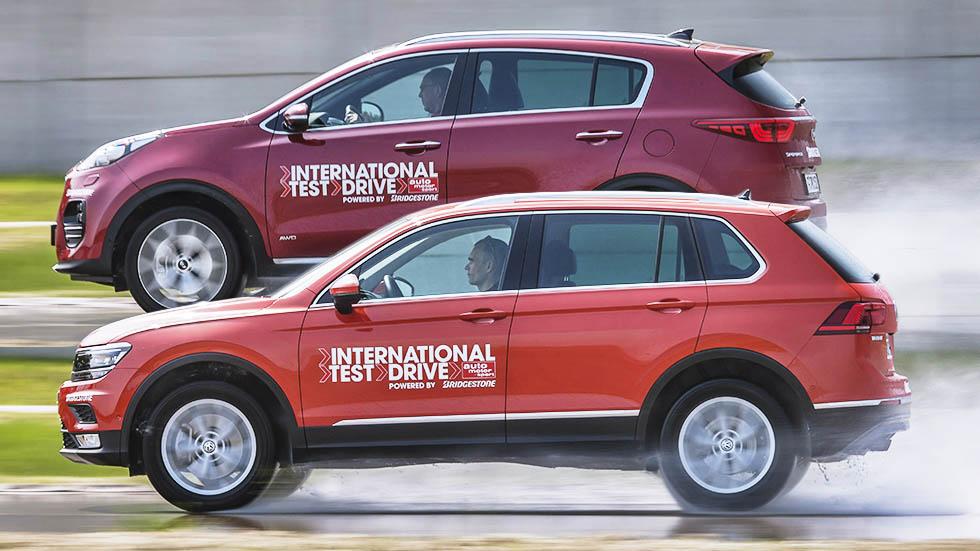 VW Tiguan 2.0 TSI vs Kia Sportage 1.6 T-GDI: ¿los mejores SUV?