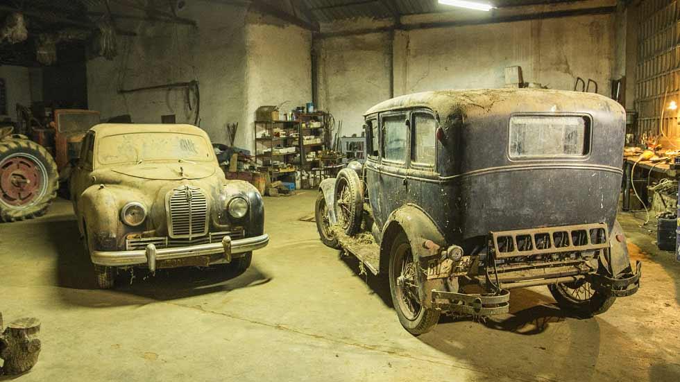 El santuario de los coches olvidados (fotos y vídeo)