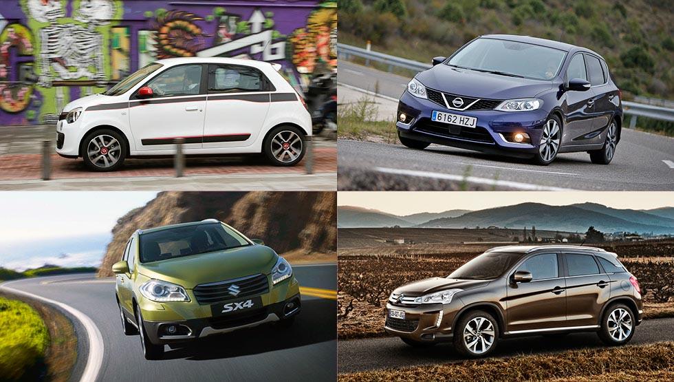 Los 15 coches que no cumplen expectativas en ventas en 2016