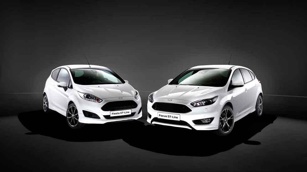 Ford Fiesta ST-Line y Focus ST-Line: más madera deportiva