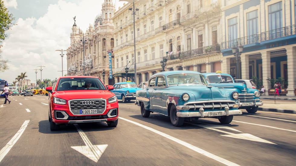 Recorremos la Cuba más auténtica con el nuevo Audi Q2