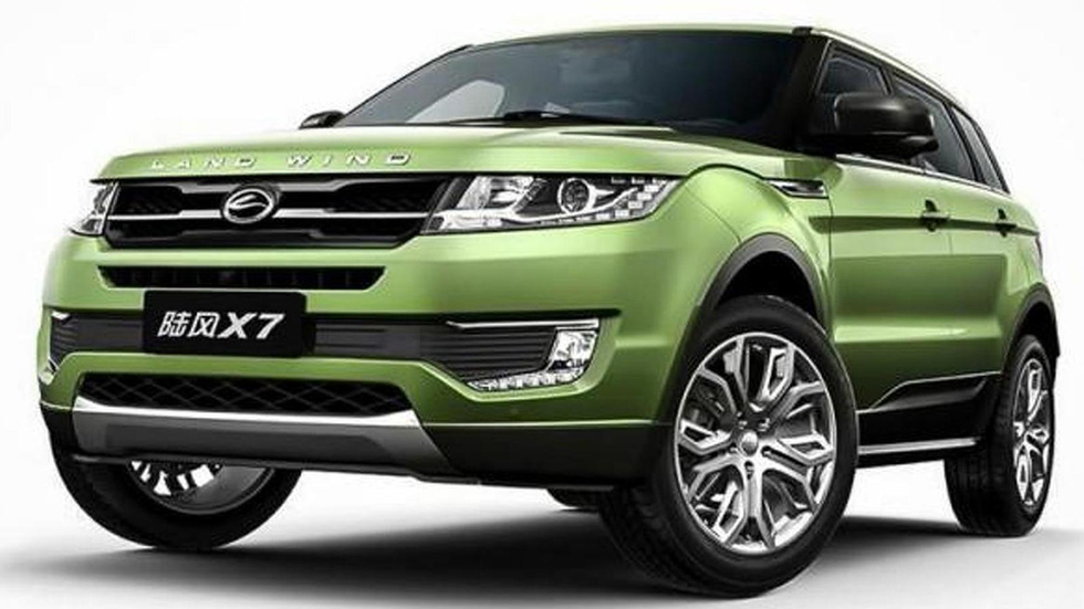 Land Rover denuncia a la china JMC por copiar el Evoque