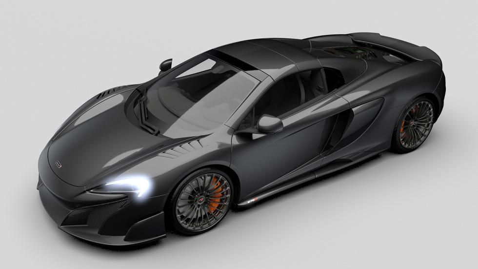 McLaren MSO Carbon Series LT, súper deportivo de carbono