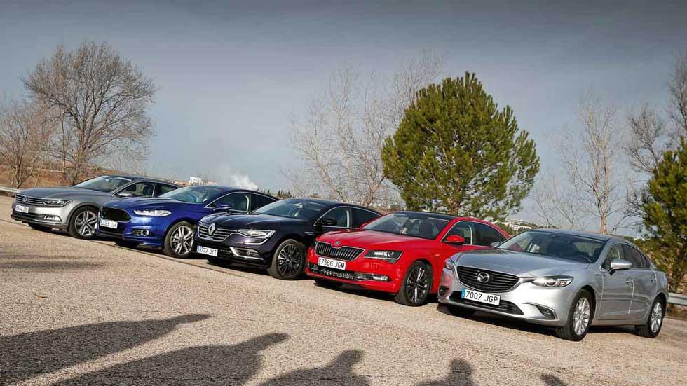 ¿Qué coches comprar? Las mejores berlinas medias de 2016
