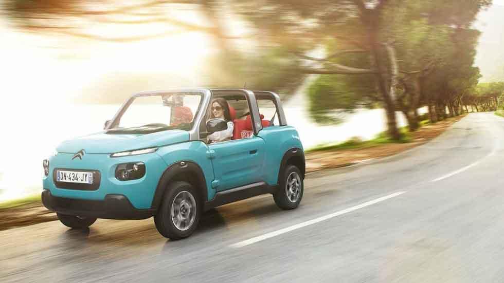 La isla de los coches eléctricos: Formentera apuesta al Citroën E-Mehari