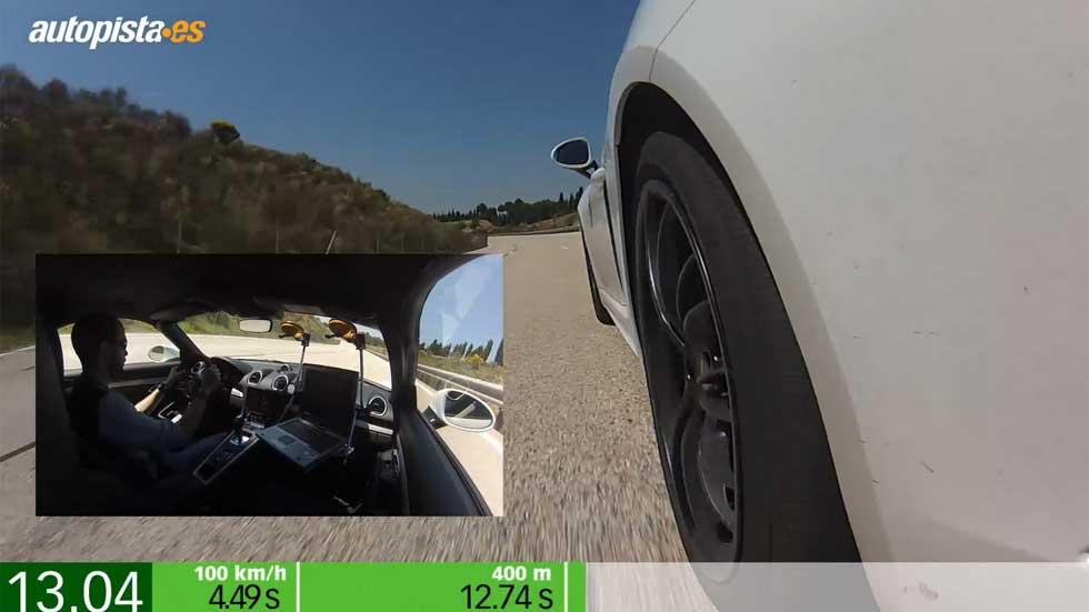 Porsche 718 Boxster PDK: aceleración (vídeo)