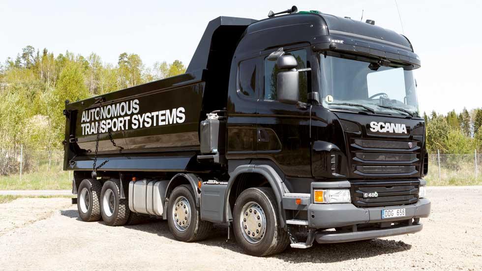 Así es el camión de Scania que ya conduce solo (vídeo y fotos)