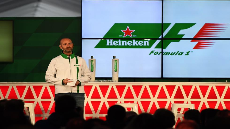 Heineken, patrocinador oficial de la Fórmula 1 hasta 2020