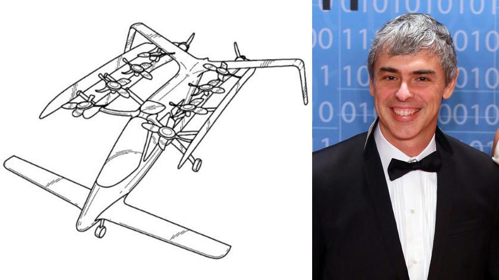 El cofundador de Google crea en secreto su coche volador