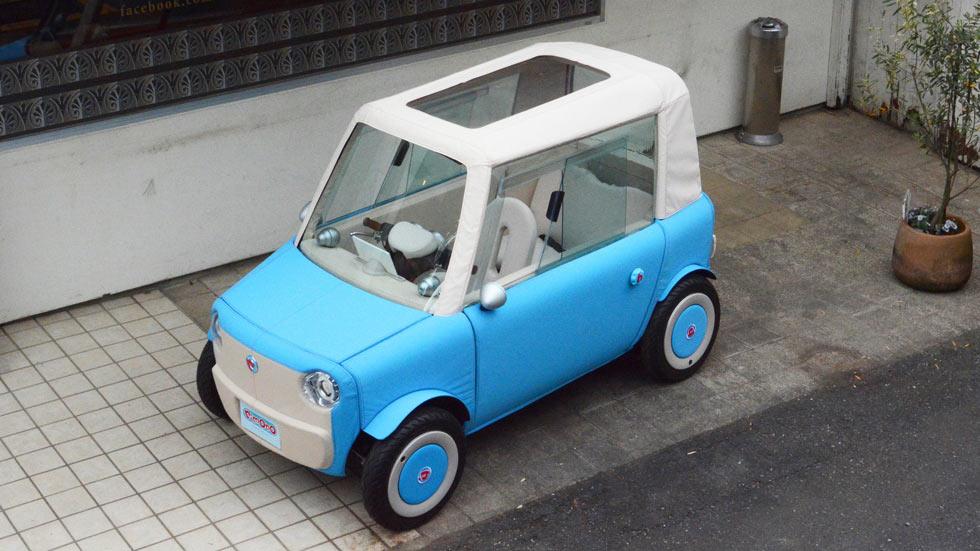 Rimono, el increíble coche eléctrico con carrocería de lona