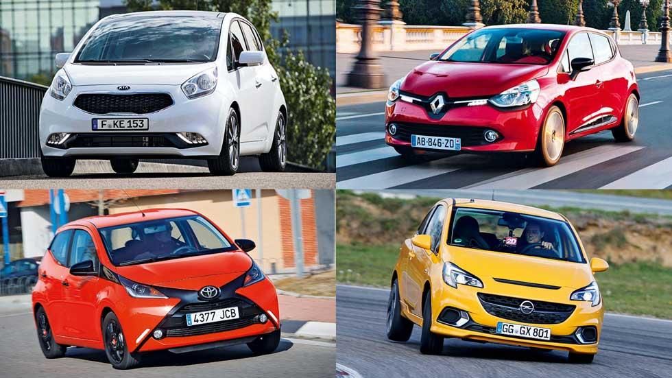Los 15 mejores coches urbanos y utilitarios que te puedes comprar