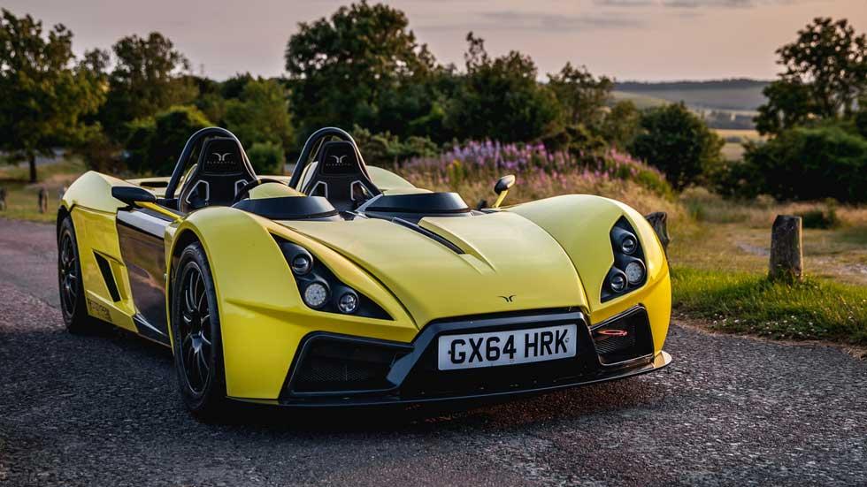 Elemental RP1, un coche súper rápido y ultra ligero