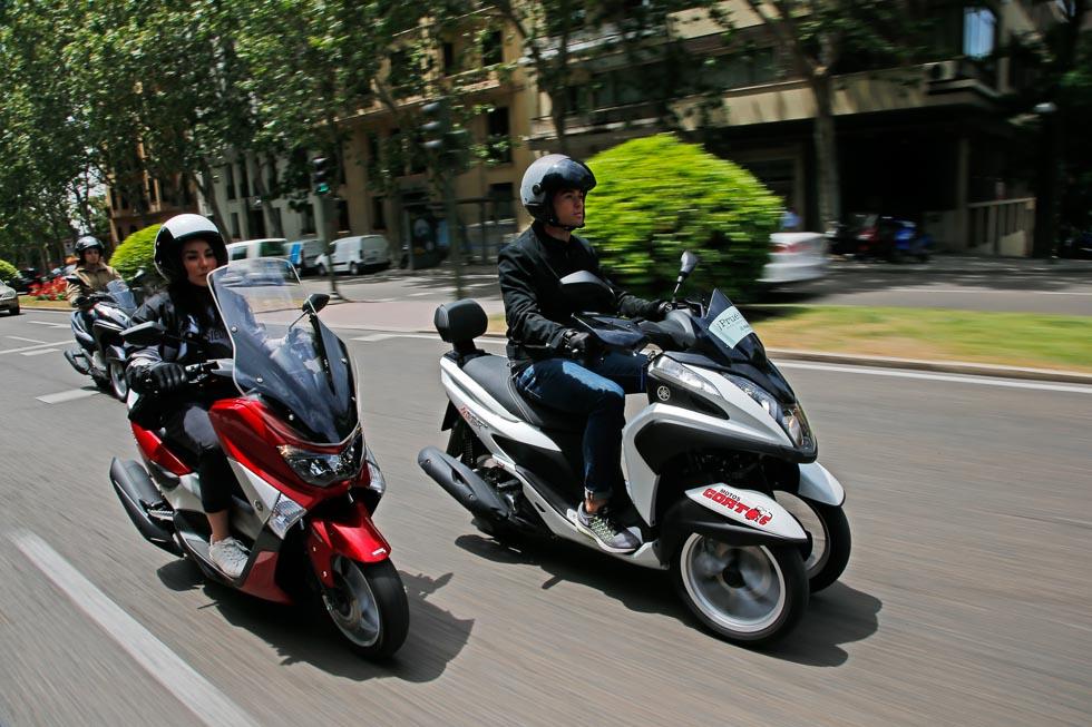 Escapa del atasco con tu carné de coche: nuevas Yamaha 125