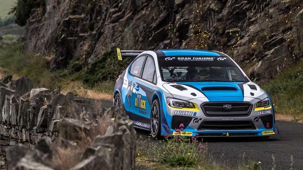 Subaru WRX STI Time Attack, rompiendo el récord en la Isla de Man