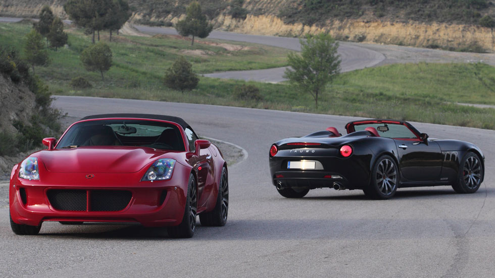 Tauro, los 'Lamborghini' españoles artesanales