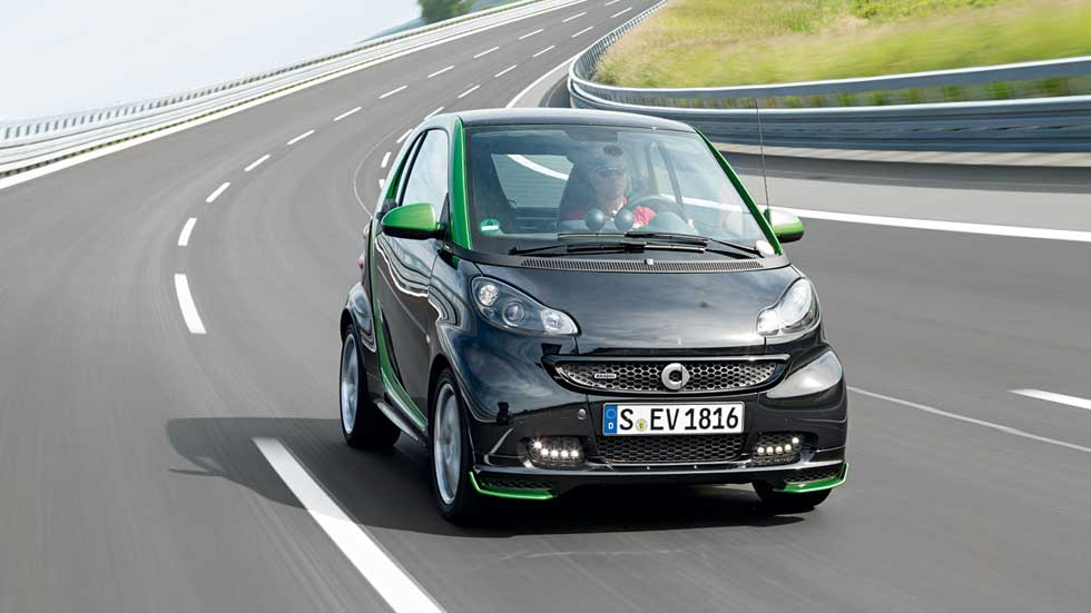 Smart contará con coches eléctricos en toda su gama