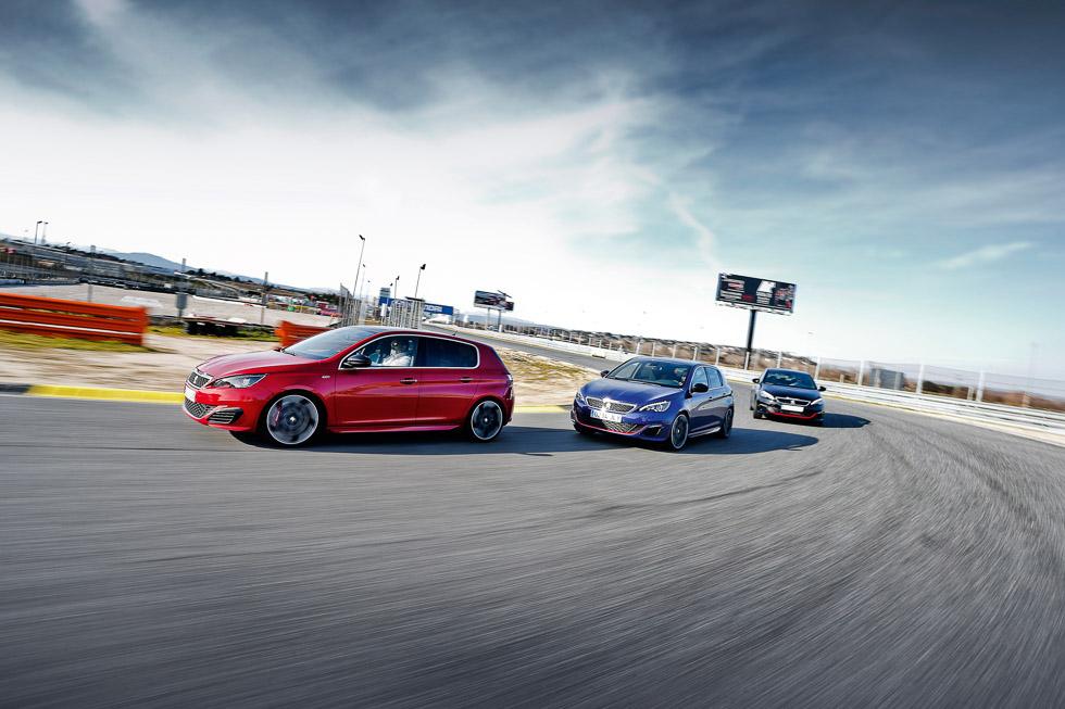 Analizamos la gama GTi de Peugeot: deportivos con historia