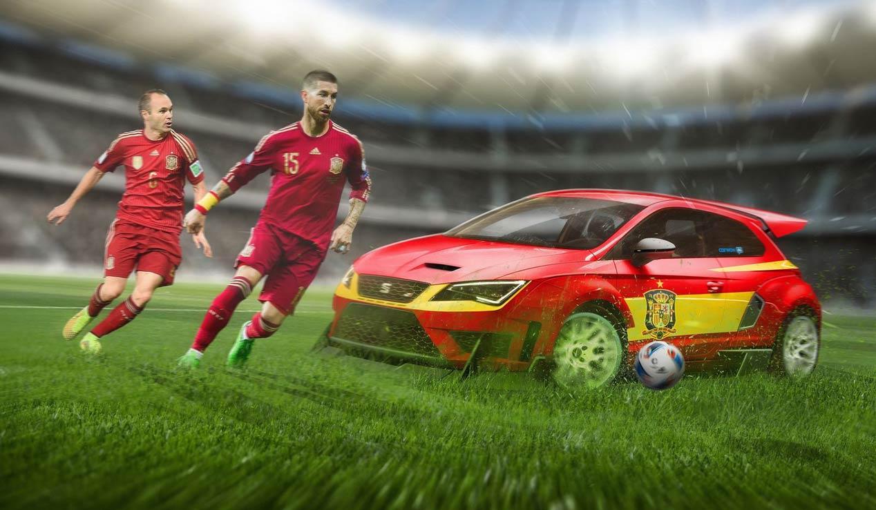 Eurocopa 2016: los coches de las selecciones de fútbol