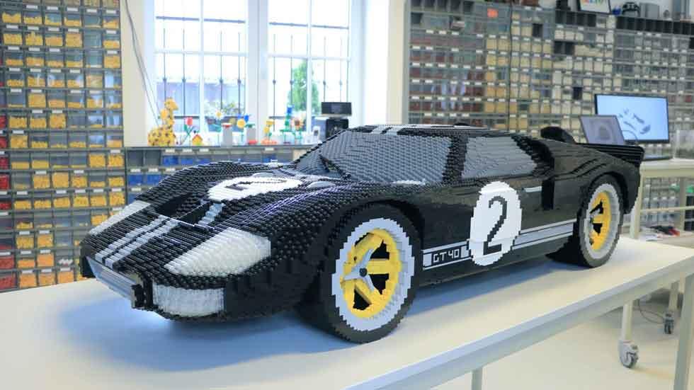 Ford GT y GT40 de Le Mans con piezas de Lego (vídeo y fotos)