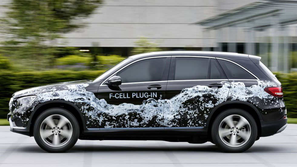 Mercedes GLC F-CELL, el primer SUV híbrido enchufable de pila de combustible
