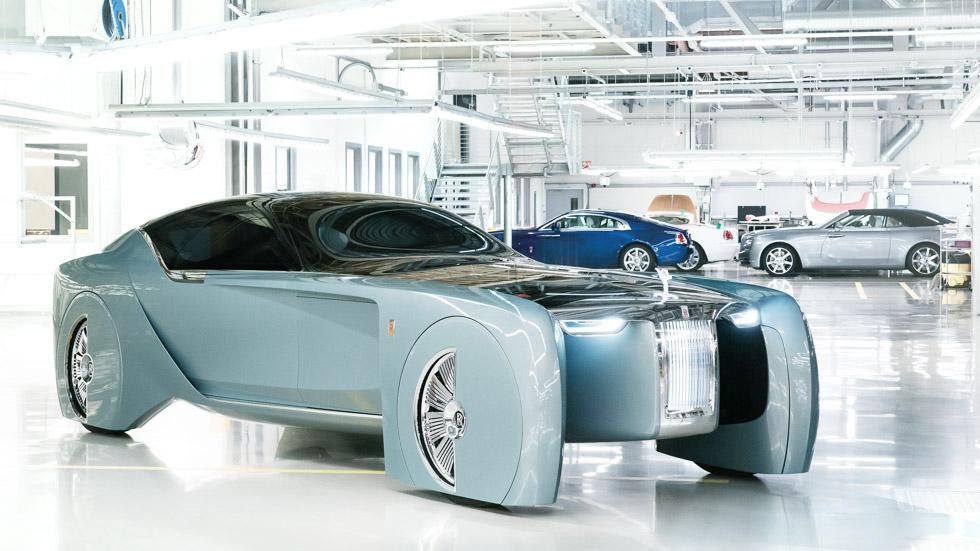 Rolls-Royce Vision Next 100: ¿será así el futuro de Rolls?