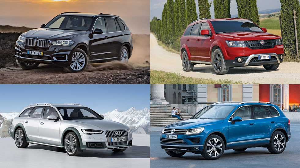 Los mejores SUV grandes del mercado: guía de compra