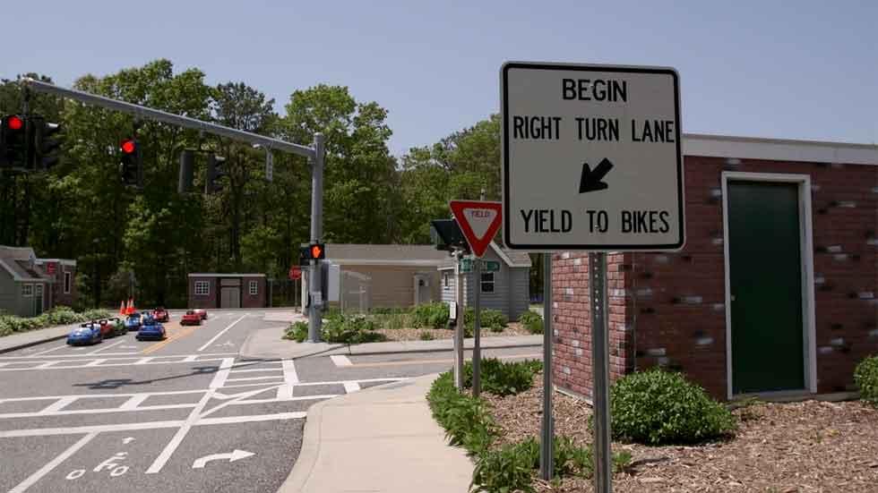 Así es la ciudad de la seguridad vial (vídeo)