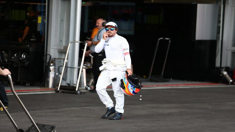 Gran Premio de Europa: Abandono de Fernando Alonso