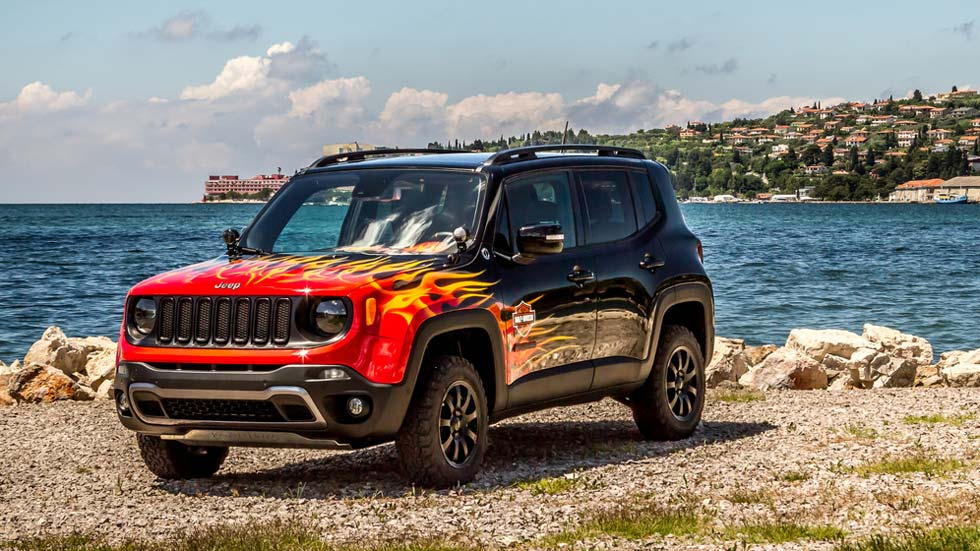 Jeep Renegade Hell's Revenge, el SUV infernal