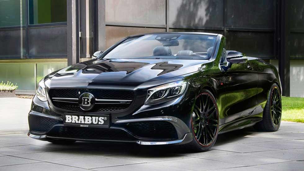 Mercedes-AMG S63 Cabriolet de Brabus, el descapotable más potente