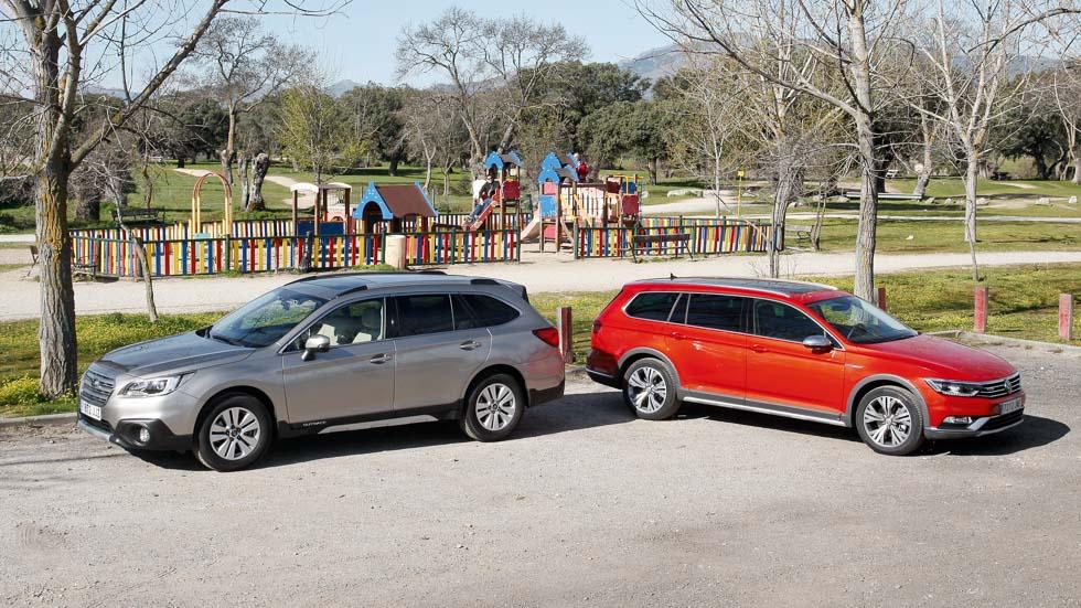 Subaru Outback 2.0 TD vs VW Passat Alltrack 2.0 TDI: los anti-SUV