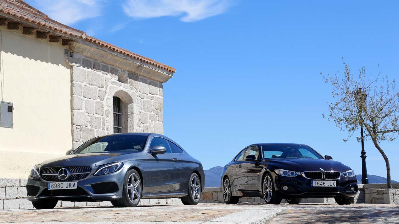 Gran duelo coupé: BMW 420d vs Mercedes C Coupé 220d