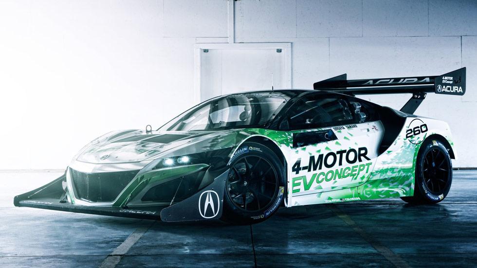 Honda NSX EV Concept para Pikes Peak, misil eléctrico