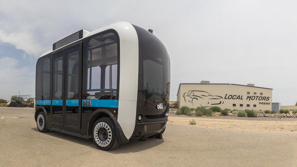 Olli, el transporte del futuro de IBM y Local Motors