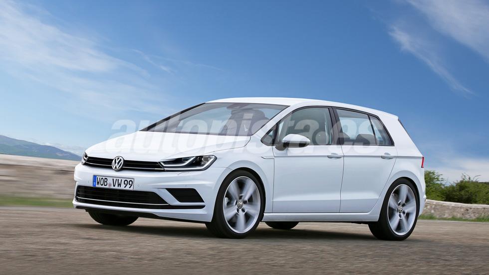 Volkswagen Golf VIII: así será el compacto en 2018