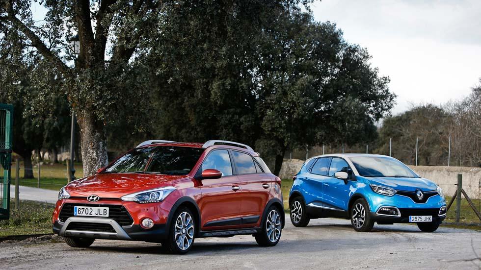 Hyundai i20 Active CRDi vs Renault Captur dCi: ¿SUV o no SUV?