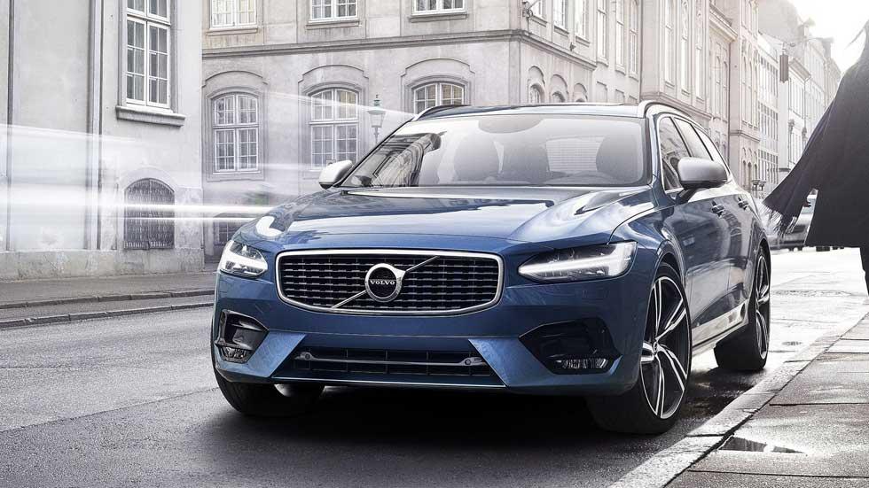 Volvo S90 y V90 R-Design, una estética más deportiva
