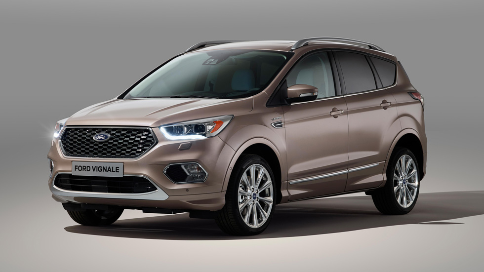 Ford Kuga Vignale: imagen definitiva del exclusivo SUV