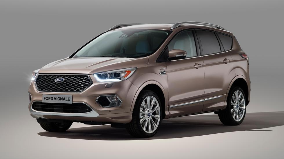 Ford Kuga Vignale: imagen definitiva del exclusivo SUV