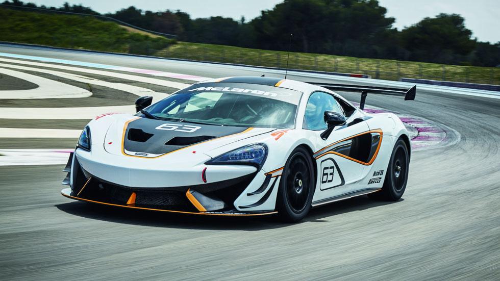 McLaren 570S Sprint, una máquina para las carreras