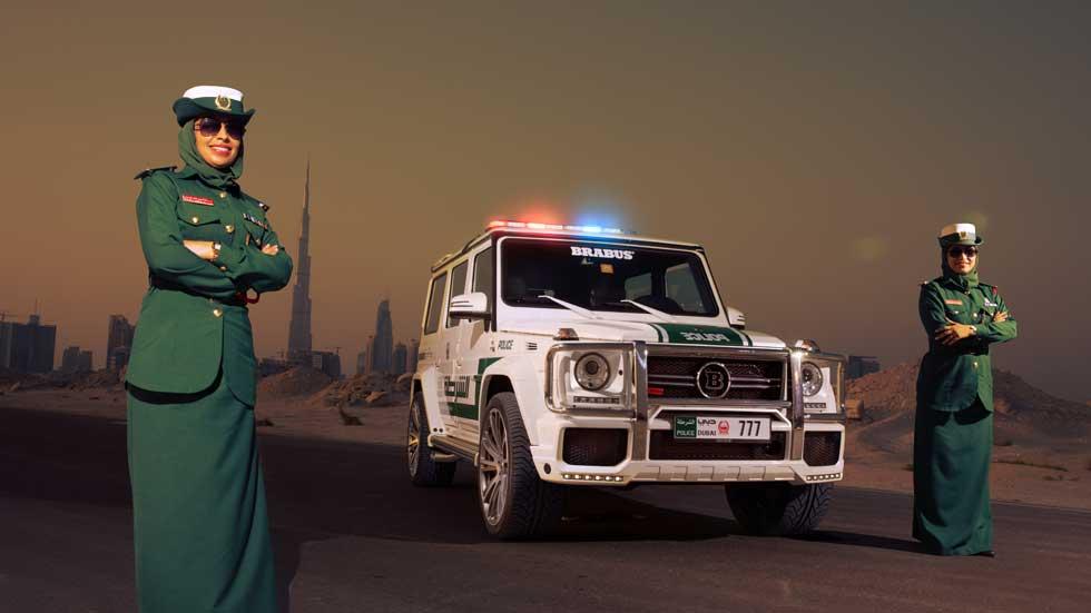 Los mejores coches de policía del mundo