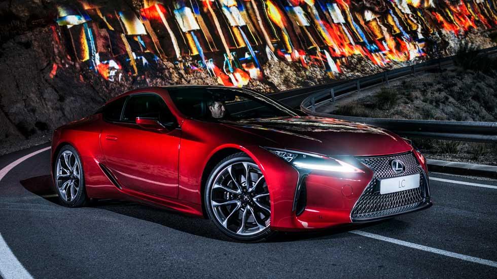 Lexus LC500, así suena su potente motor V8