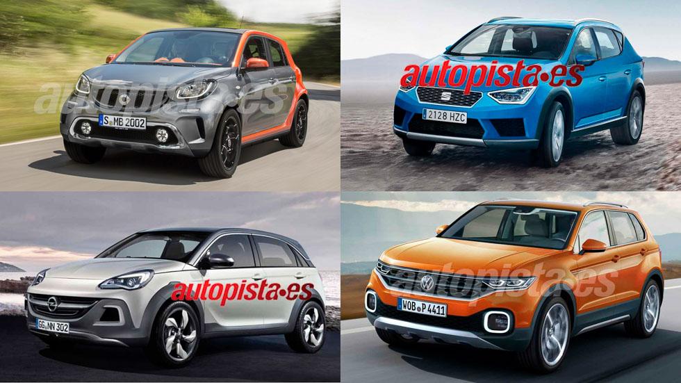 Revolución SUV: todos los nuevos pequeños que llegan