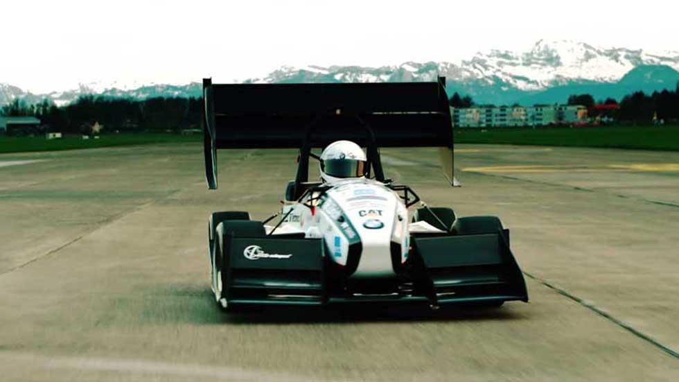 El coche eléctrico más rápido del mundo (vídeo)