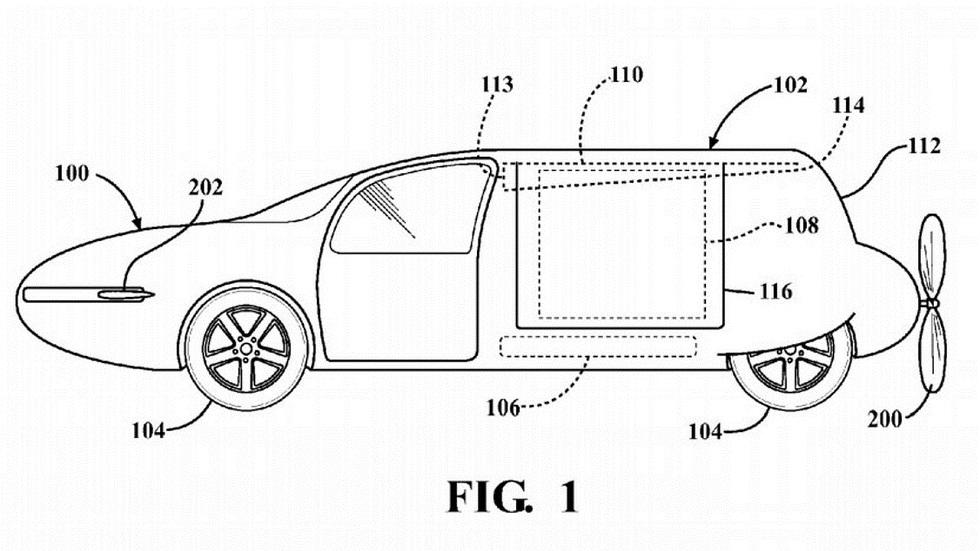 Toyota también podría tener un coche volador